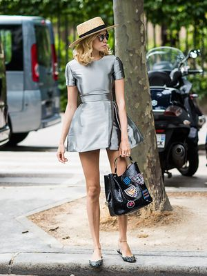 Tip Of The Day: How To Wear A Party Dress During The Day