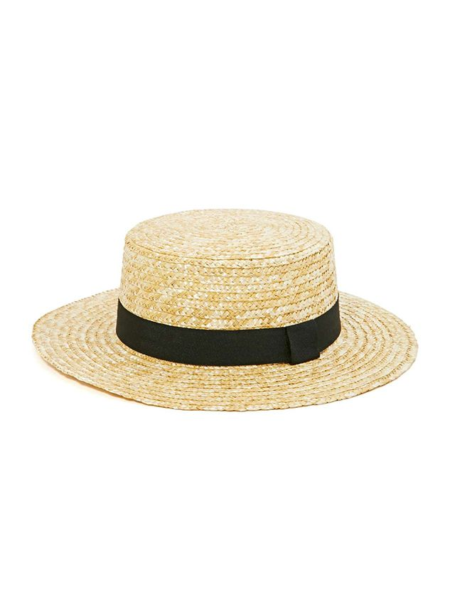 Nasty Gal Let's Cruise Boater Hat