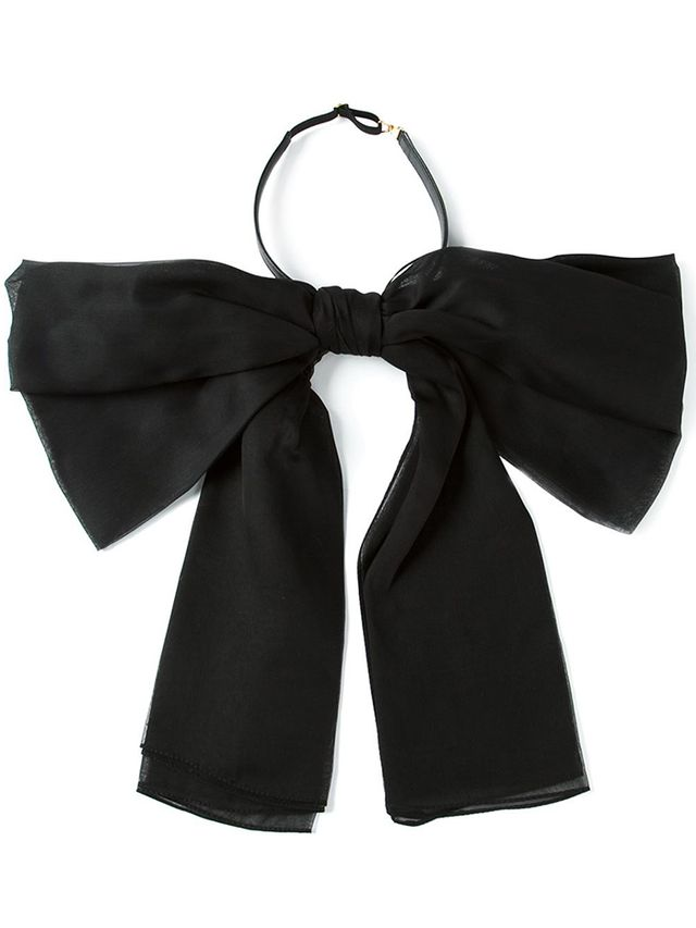 Saint Laurent Bow Scarf