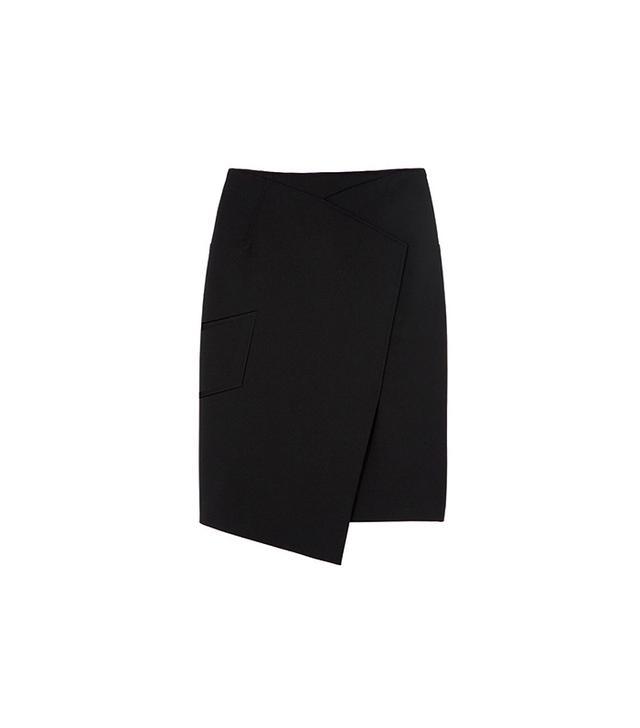 Tibi Anson Asymmetrical Skirt