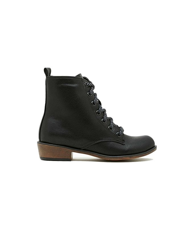 Nasty Gal Eastside Combat Boots