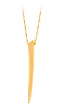 Gorjana Griffin Fancy Horn Long Necklace