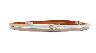 Linea Pelle Triple Colour Double Wrap Belt