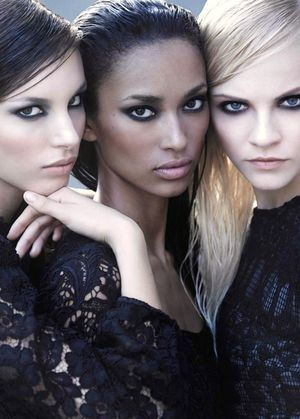 Smokey Eyes And Romantic Lace Inspiration From Marie Claire UK