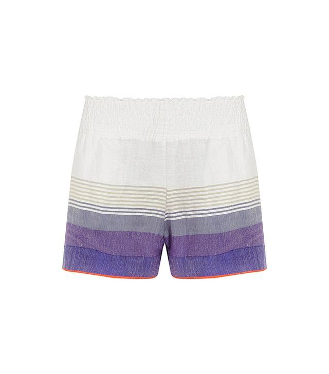 Lemlem Bezez Cotton-Blend Gauze Shorts