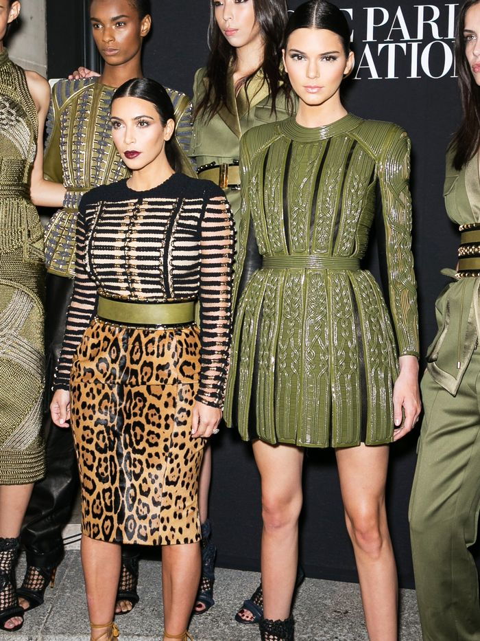 Kim Kardashian Is Really Short Compared To Kendall Jenner