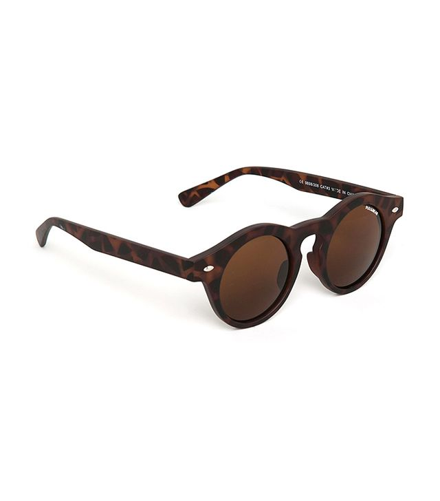Pull and Bear Gafa Pasta Redonda Sunglasses