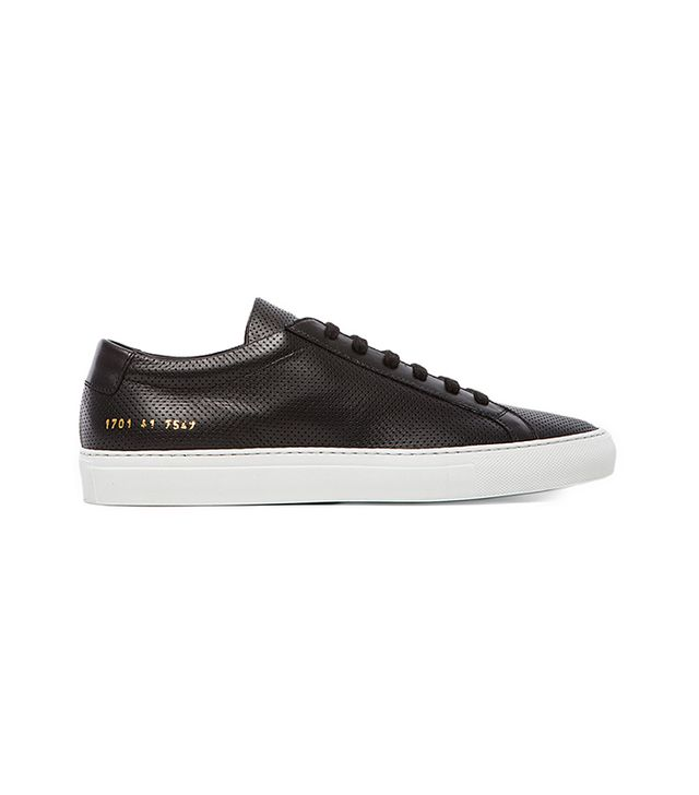 Common Projects Original Achilles Perforated Shoes