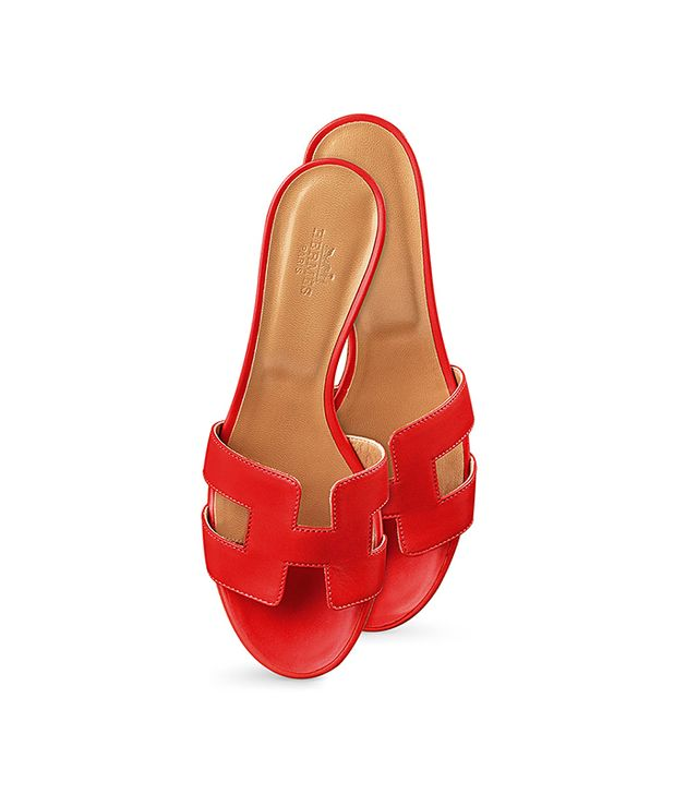 Hermès Oasis Leather Sandals