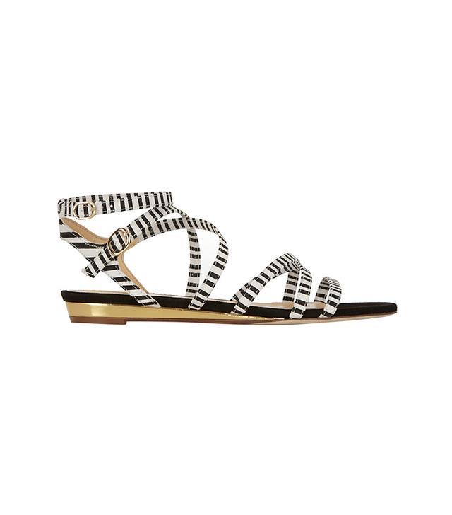 J.Crew Emaline Striped Sandals
