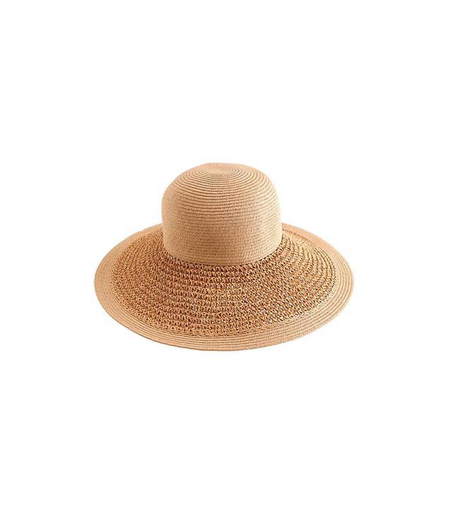 Textured Straw Hat
