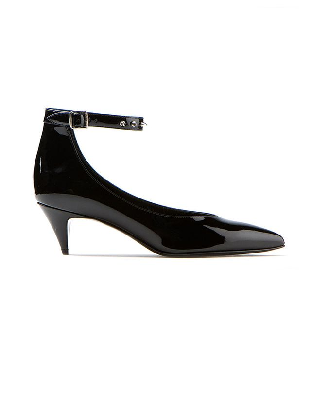 Saint Laurent Kitten Black Patent Leather Shoes