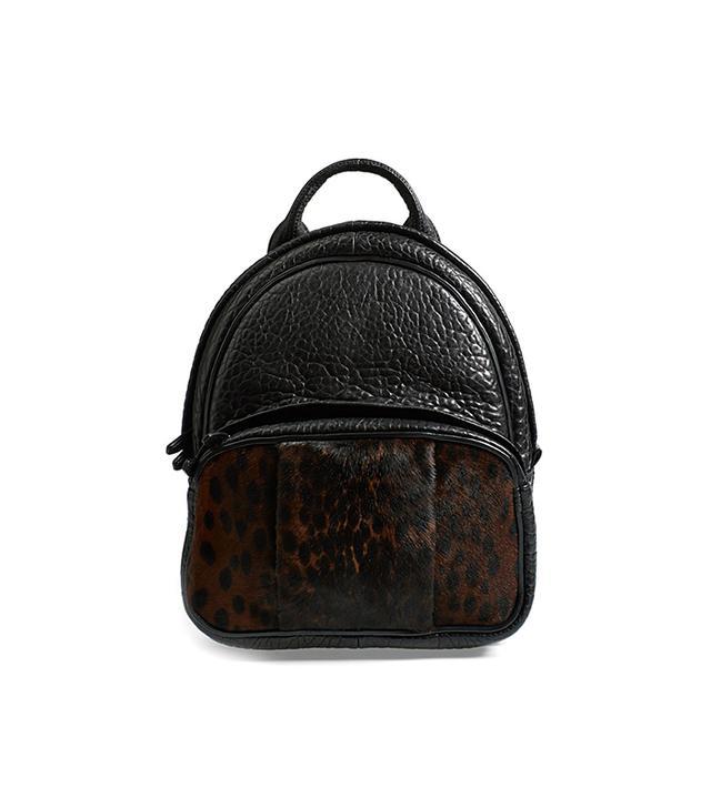 Alexander Wang Dumbo Leather & Calf Hair Backpack