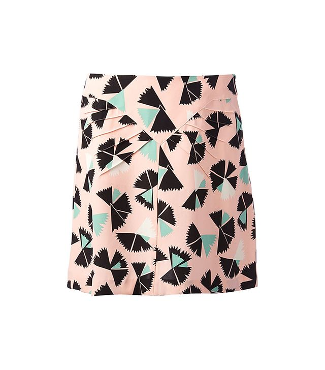 Marc by Marc Jacobs Fan Print Skirt