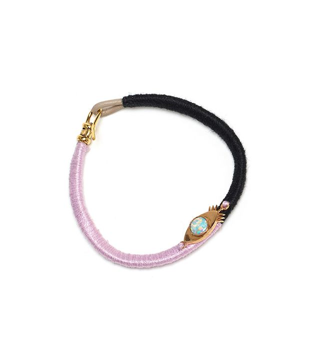 Lizzie Fortunato Red-Eye Bracelet