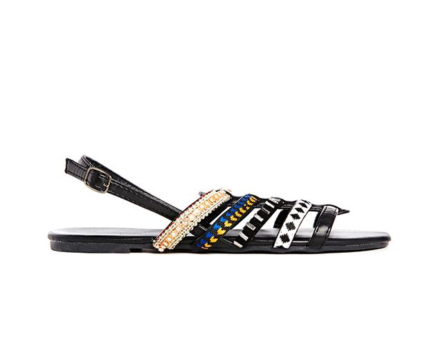 New Look Hive Multi Strap Flat Sandals