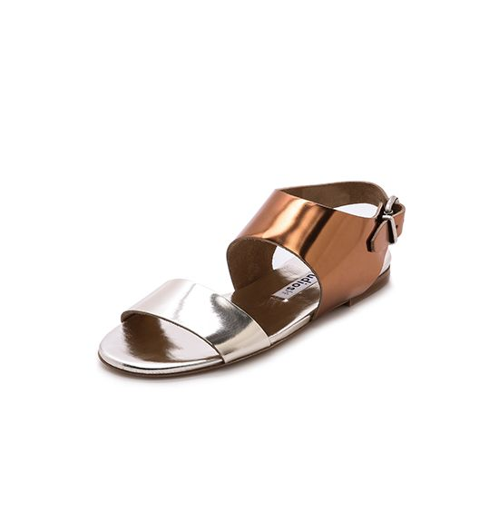 Acne Studios Lottie Metallic Sandal