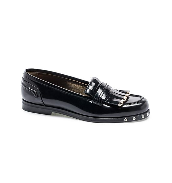 Lanvin Boyish Leather Loafers