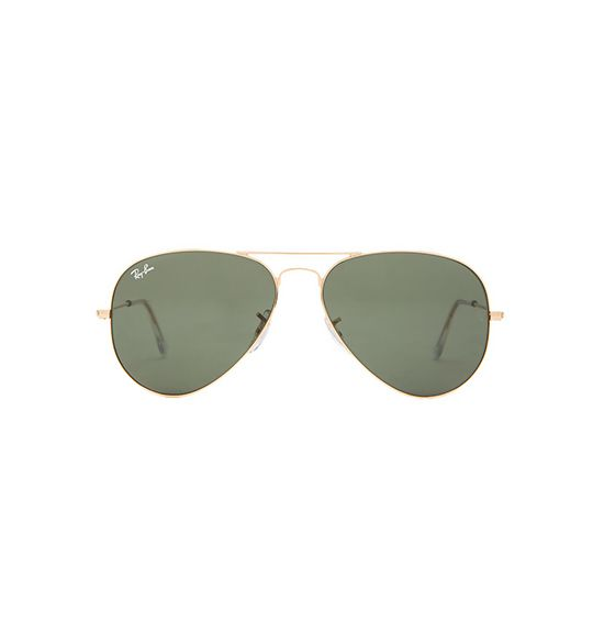 Ray-Ban Gold Aviators