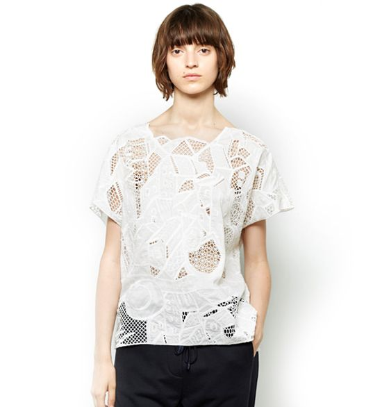 Tsumori Chisato House Embroidery Top