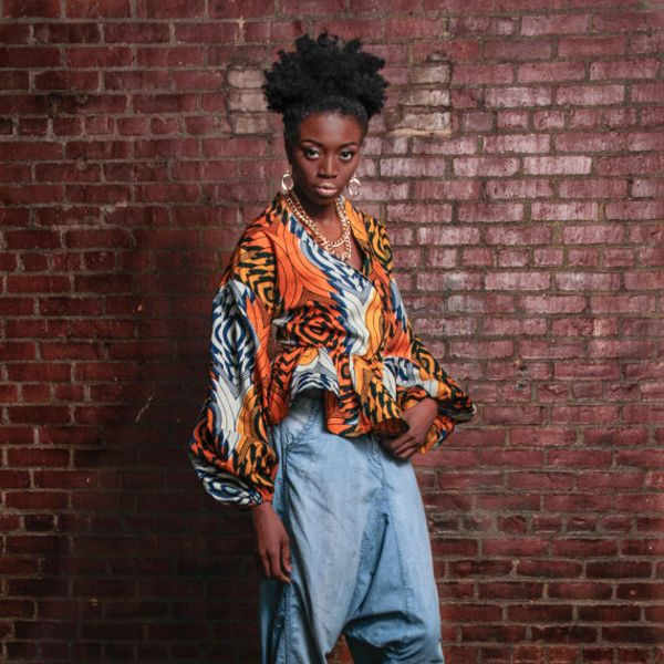Demestiks by Reuben Reuel Nay Nay African Print Shirt