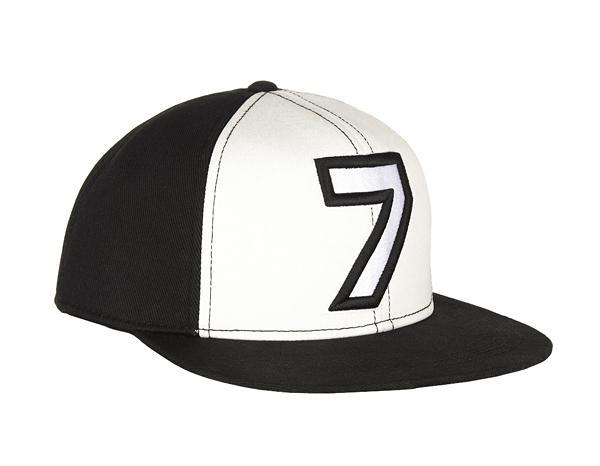 Karl Lagerfeld Number 7 Cotton Baseball Cap