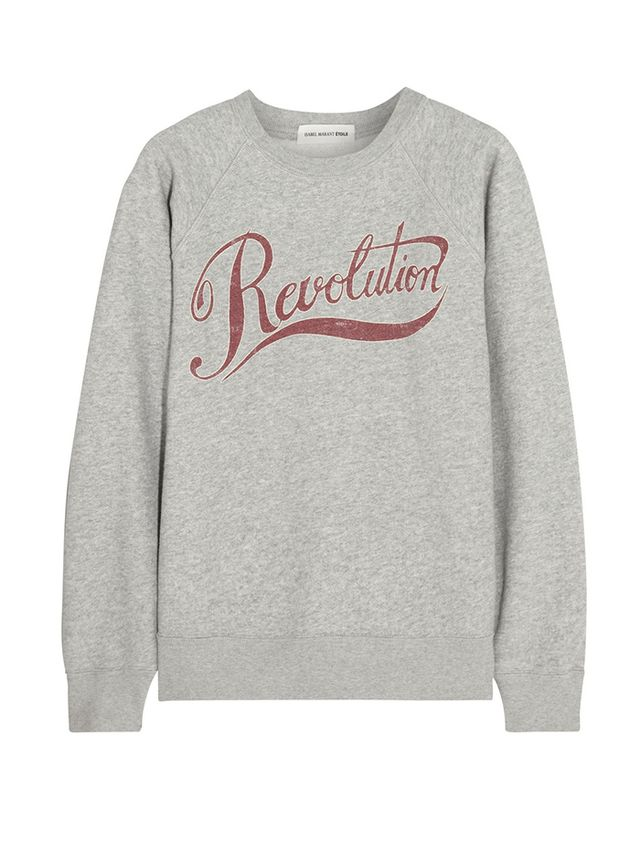 Isabel Marant Cotton-Blend Sweatshirt