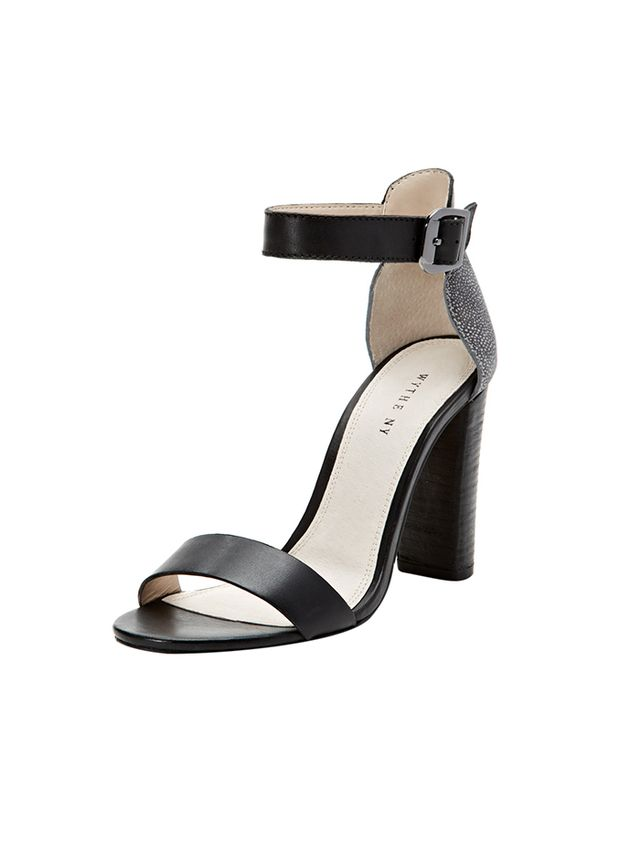Wythe Zack Two-Piece Chunky Heel Sandals