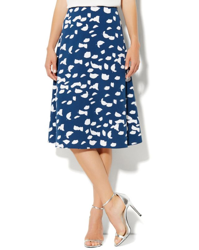 New York & Co. Crepe A-Line Skirt