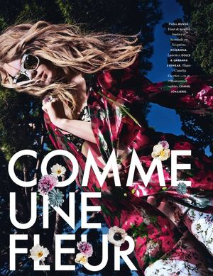 Bloom-Inspired Style From Elle France