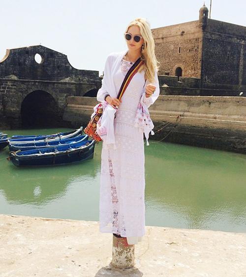 Dress #4: White Lace Dress