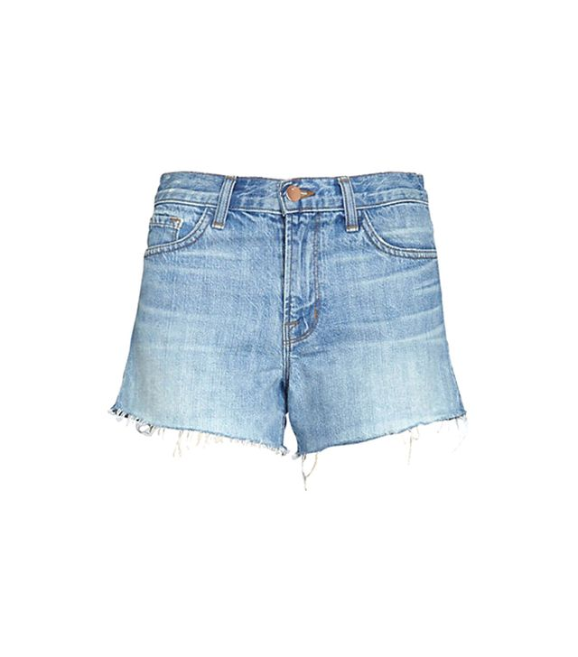 J Brand Loved Worn Button Fly Cut Off Shorts
