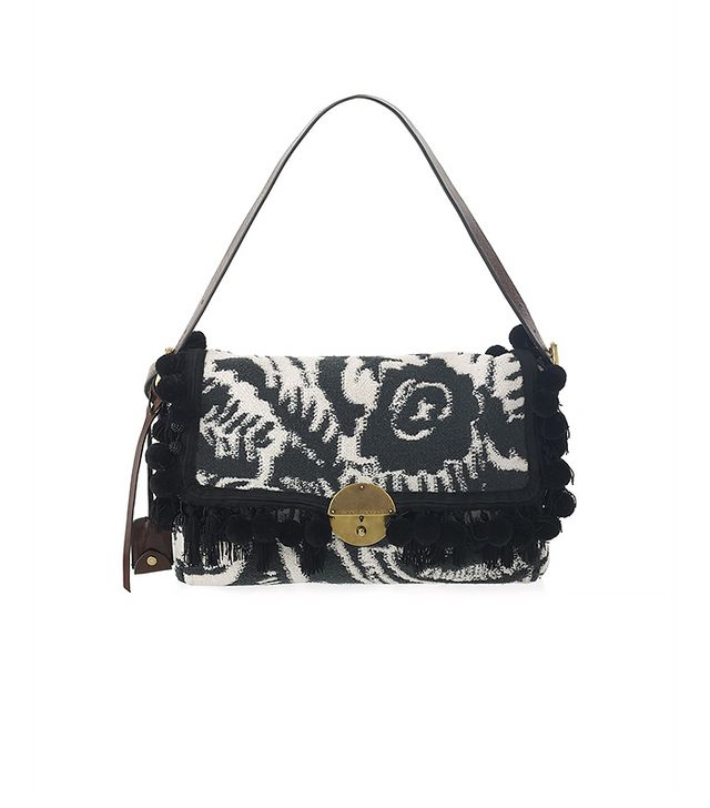 Marc Jacobs Terry Towel Woodblock Print Gotham Bag