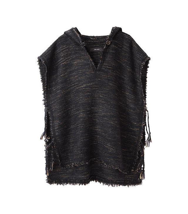 Isabel Marant Lary Tweed Poncho