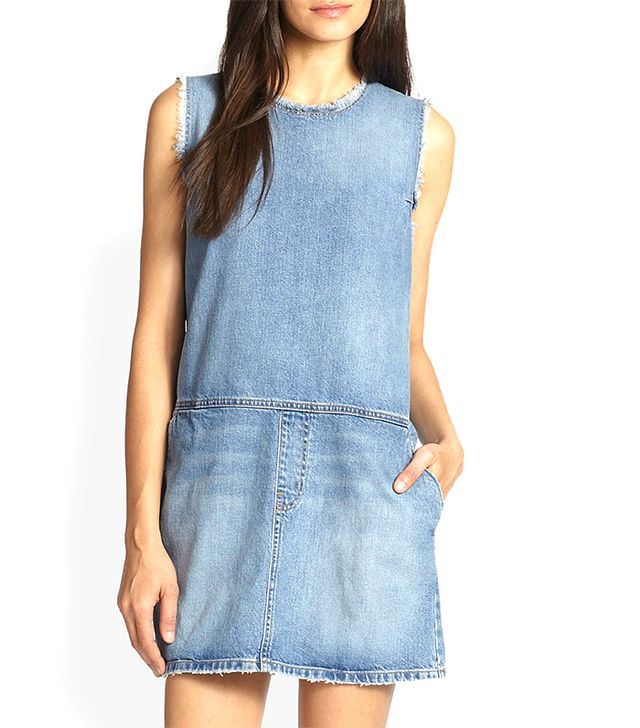 Current/Elliott Sleeveless Denim Dress