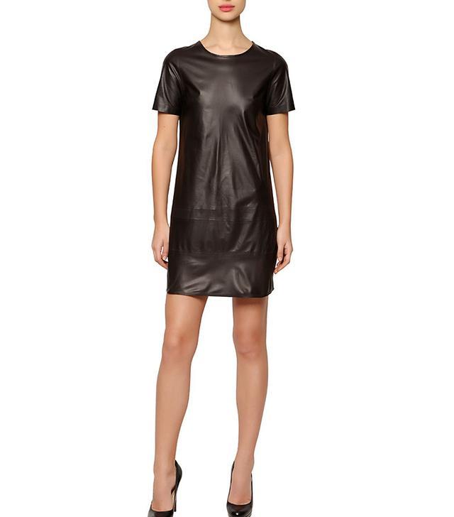 José Sánchez Stretch Nappa Leather Dress