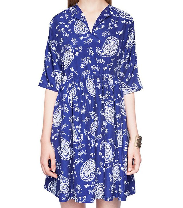 Pixie Market Paisley Babydoll Dress