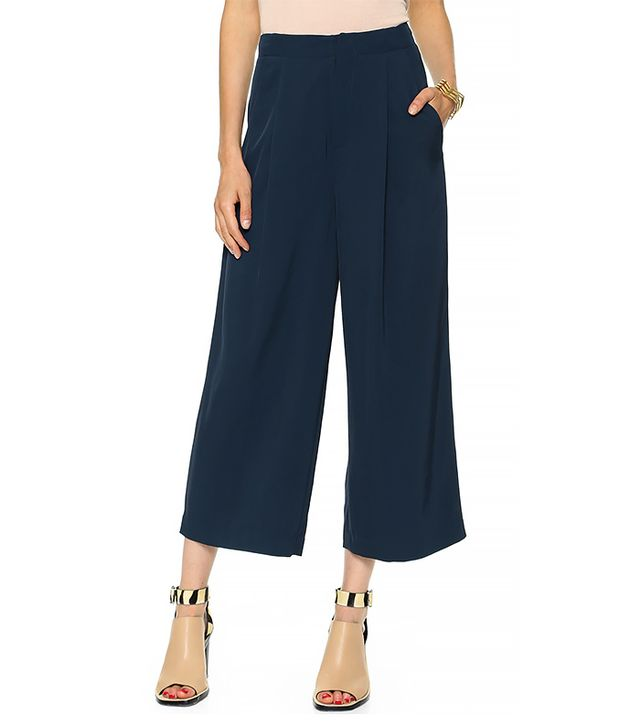 Elizabeth and James Trenton Trousers in Navy
