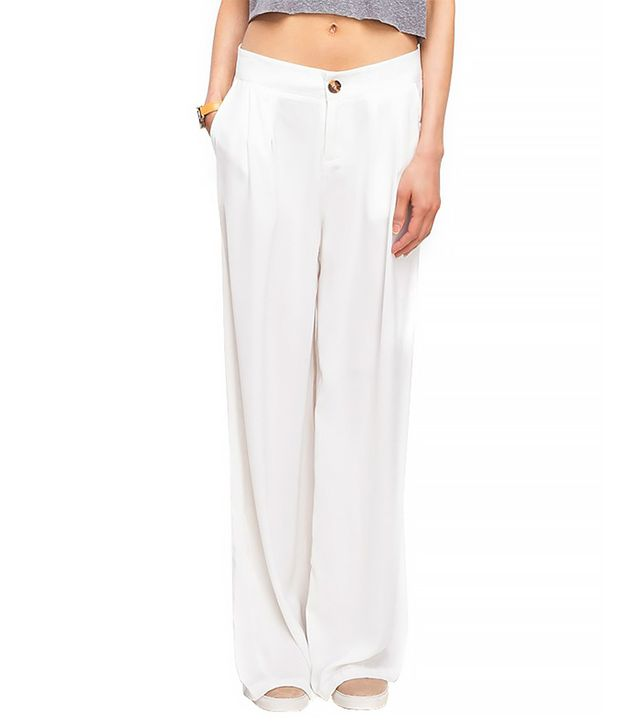 Which We Want Hutton Pants in White