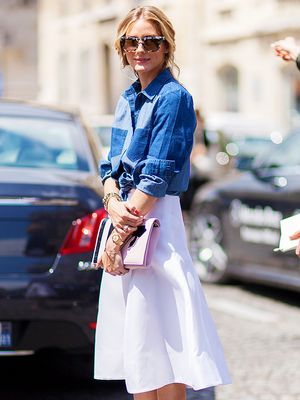 Tip Of The Day: How To Dress Up Your Denim Shirt