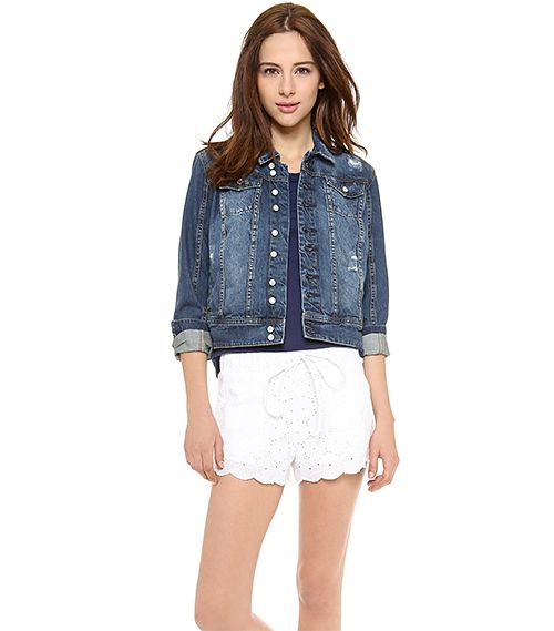 Blank Denim Jean Jacket
