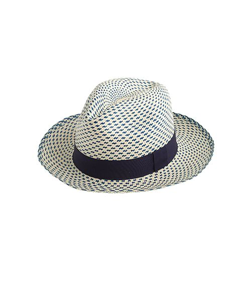 J.Crew Two-Tone Panama Hat