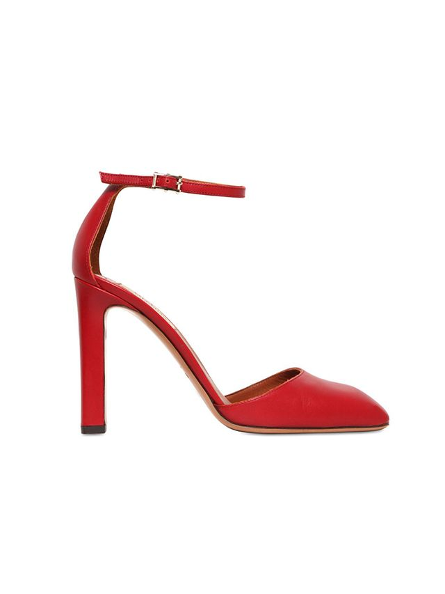 Valentino 100mm Club On Leather Pumps