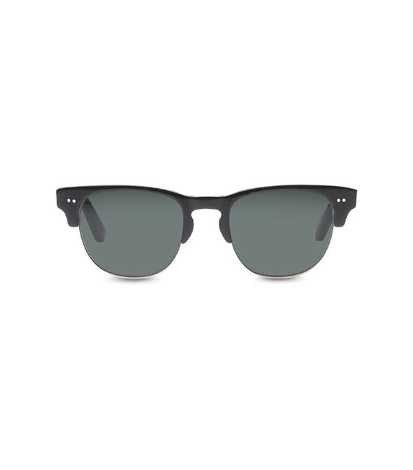 Toms Lobamba Black And Midnight Blue Sunglasses