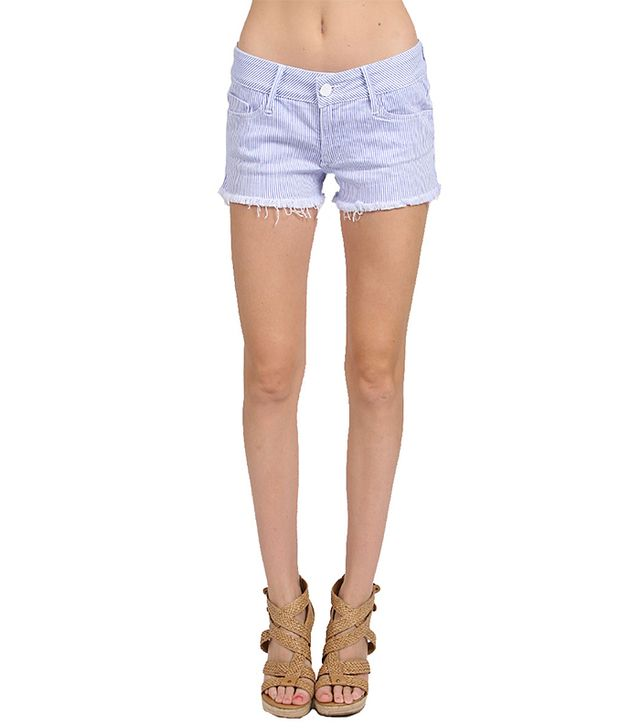 Black Orchid Black Star Cut-Off Shorts