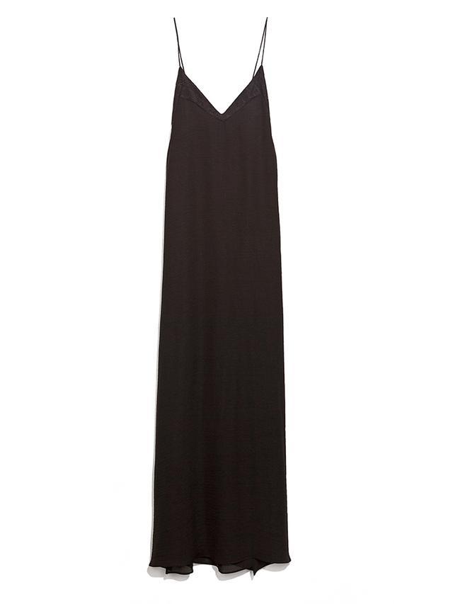 Zara Low-Cut Lace Dress