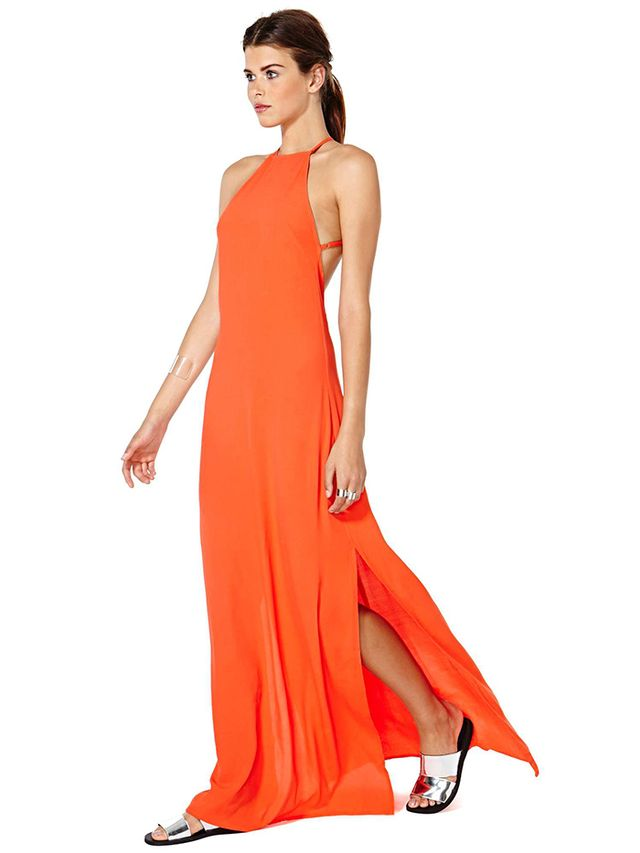 Nasty Gal Flame Game Dress