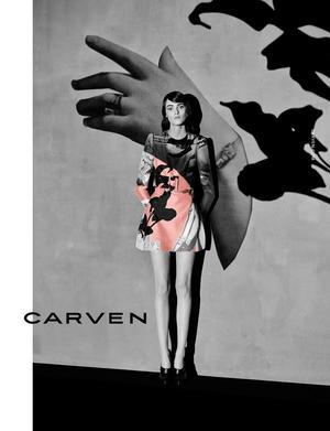 Carven's F/W 2014 Campaign