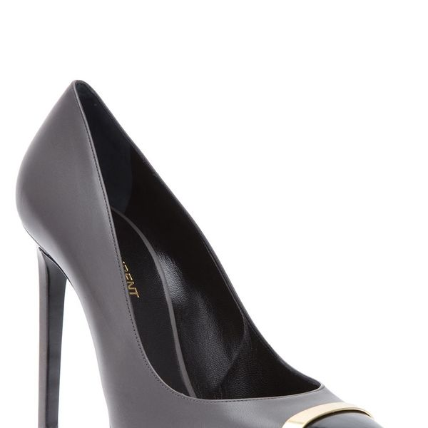 Saint Laurent Classic Paris 80 Escarpin Cap Toe Pumps