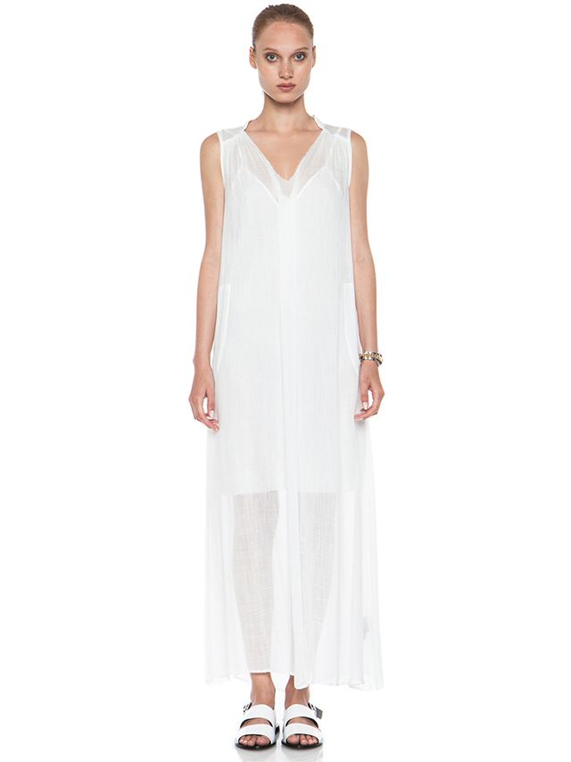 Raquel Allegra Maxi Rayon Dress